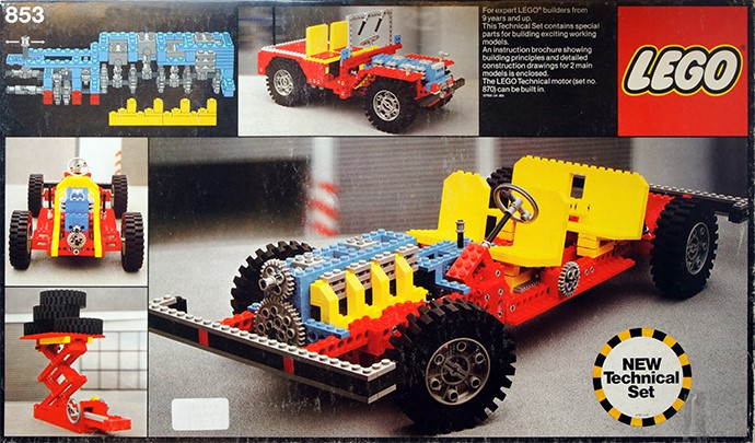 Lego Technic 853 956 Car Chassis Set Review The Lego