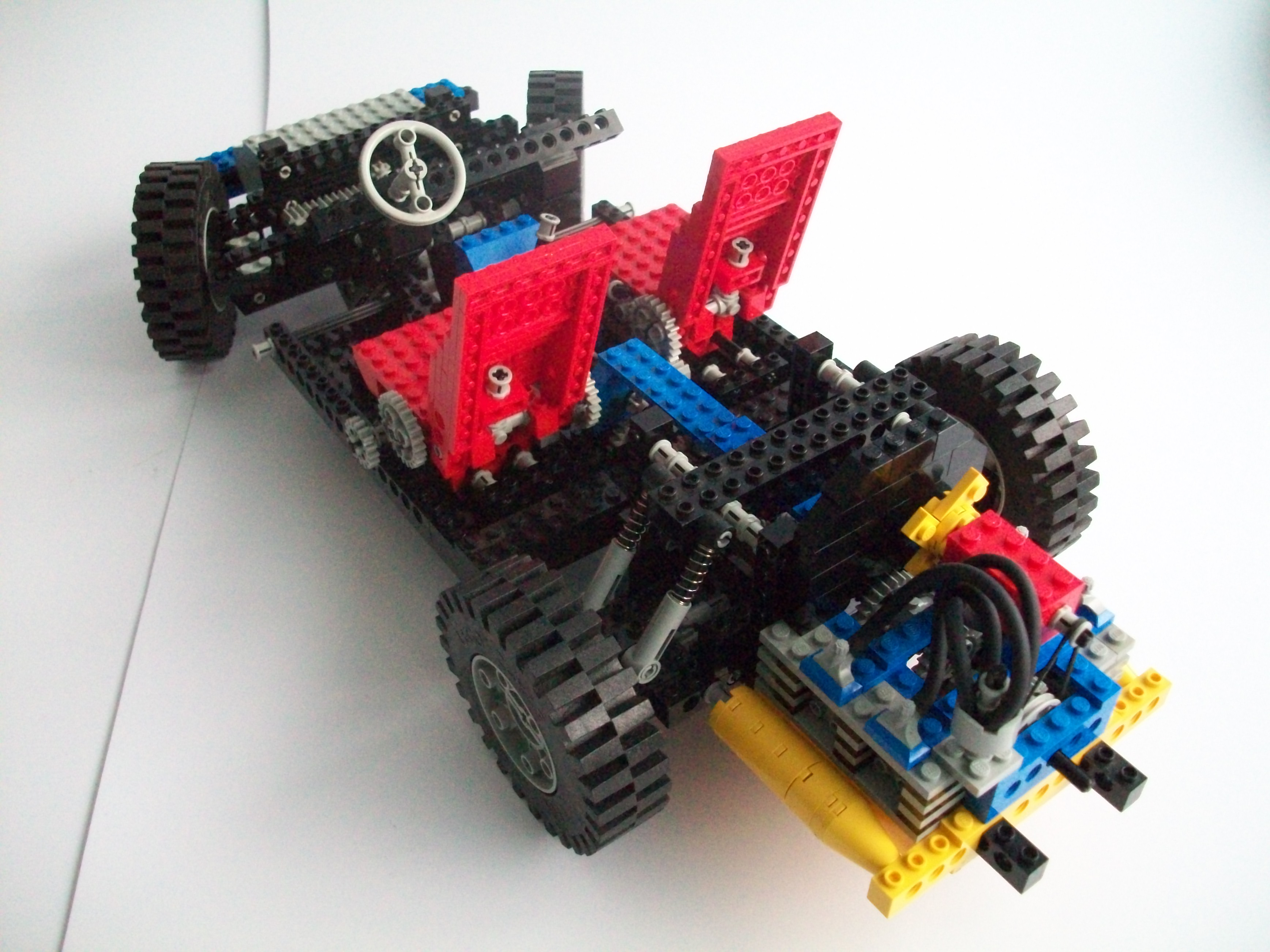 lego technic 8860 car chassis review the lego car blog. Black Bedroom Furniture Sets. Home Design Ideas