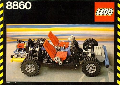 Lego Technic 8860 Car Chassis Review The Lego Car Blog
