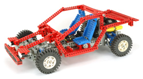 Lego 8865 Test Car