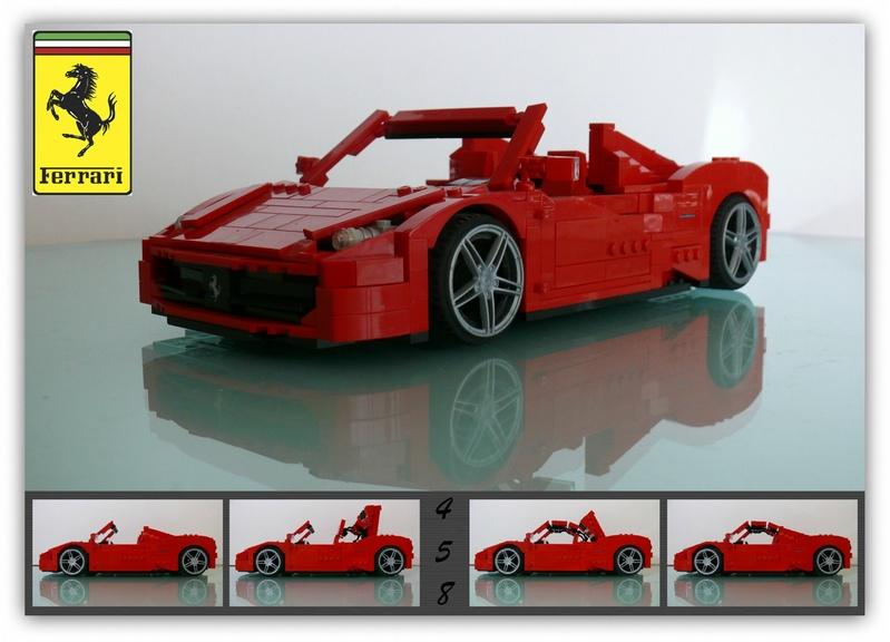 The Fantastic 458 | THE LEGO CAR BLOG