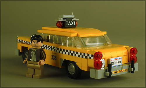 Checker Cab London >> taxi | THE LEGO CAR BLOG