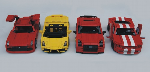 Images Of Lego Sports Car Instructions Spacehero