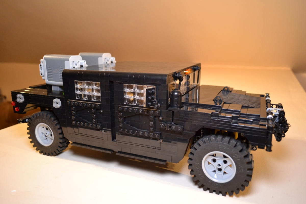 lego police truck images
