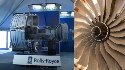 Rolls Royce Trent 1000 Lego