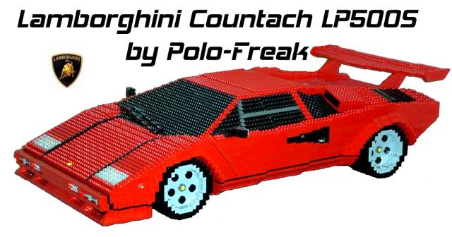Lego Lamborghini Countach The Lego Car Blog