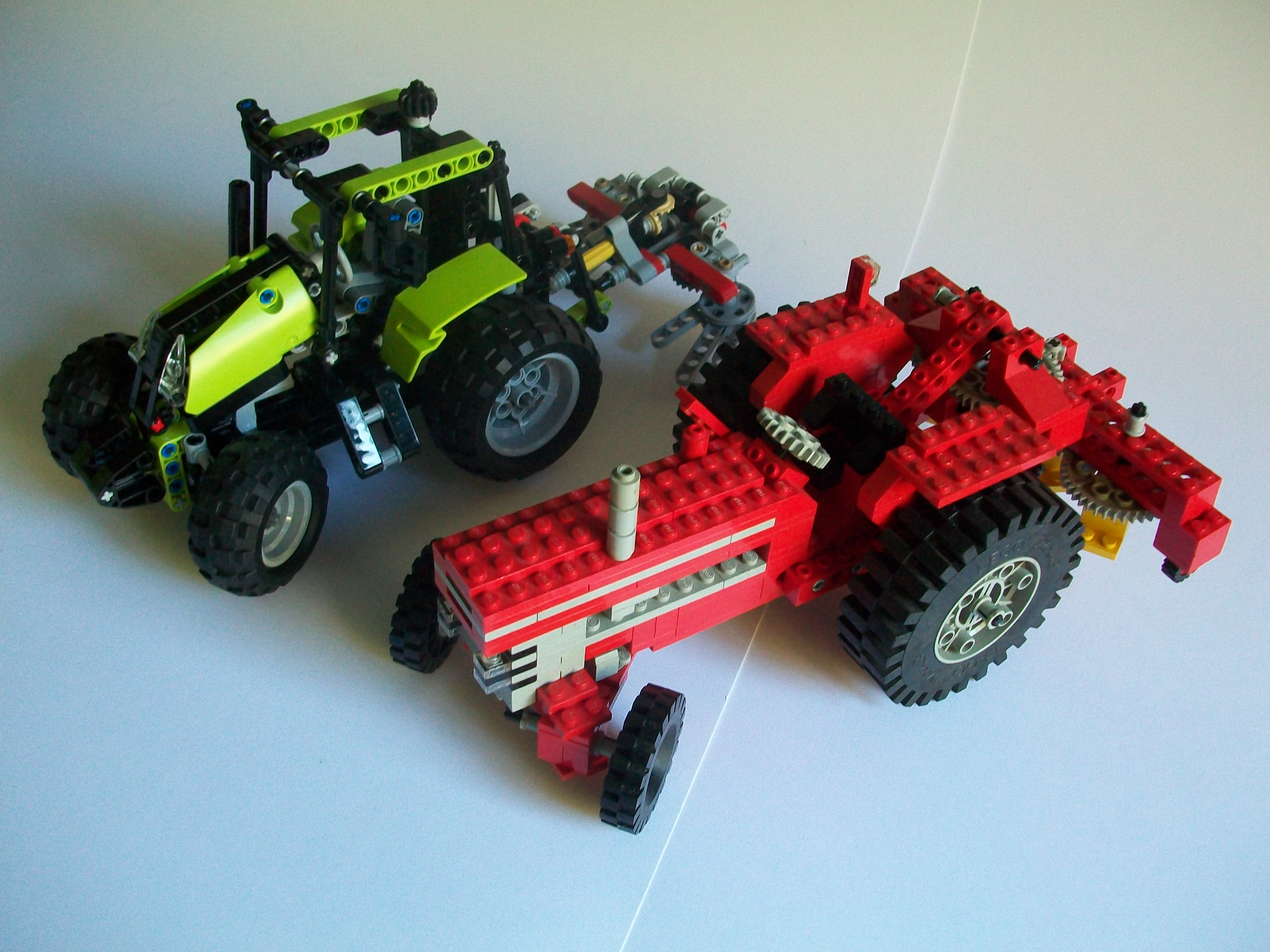 Technic Tractors Ancient And Modern The Lego Car Blog