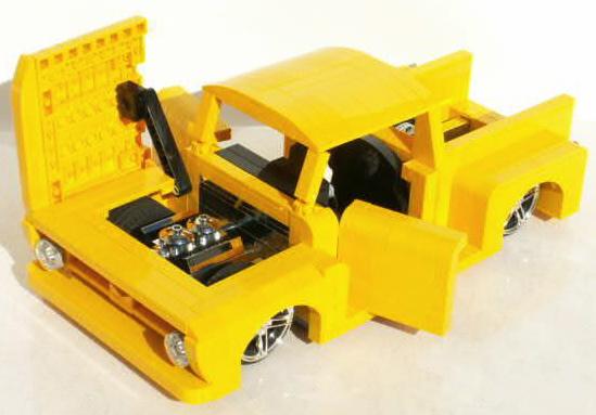 Lego Hot Rod Pick Up The Lego Car Blog