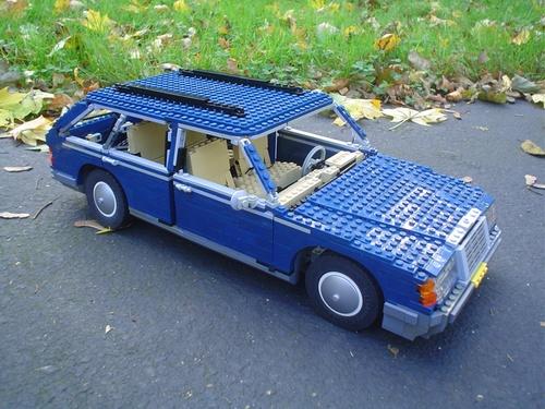 Lego Mercedes 300TD