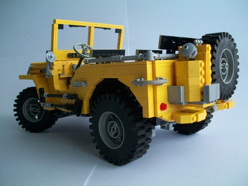 lego technic jeep the lego car blog. Black Bedroom Furniture Sets. Home Design Ideas