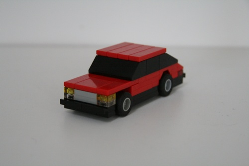 Lego Saab Turbo