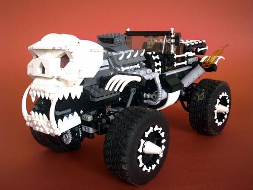 Lego Monster Truck Trial