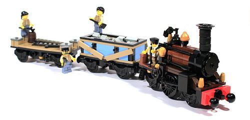 2-2-2 Steam Engine