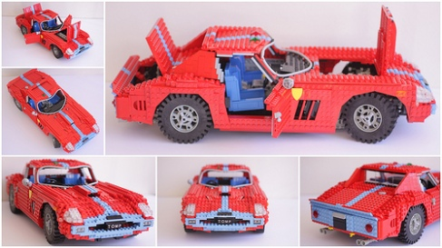 Lego Ferrari GTO
