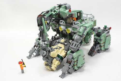 Lego Mech The Lego Car Blog