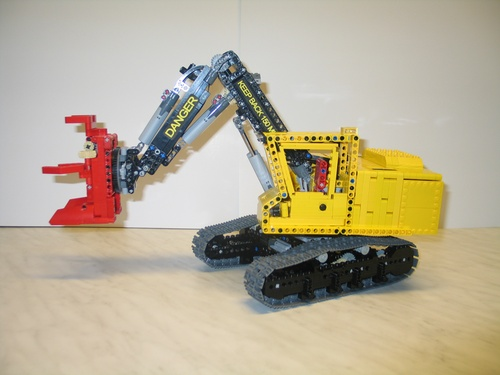 Lego Technic Feller Buncher