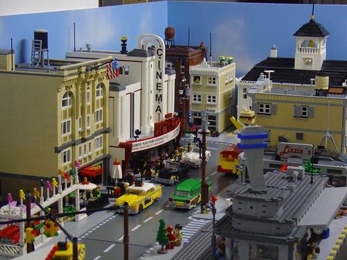 Amazing Lego Town