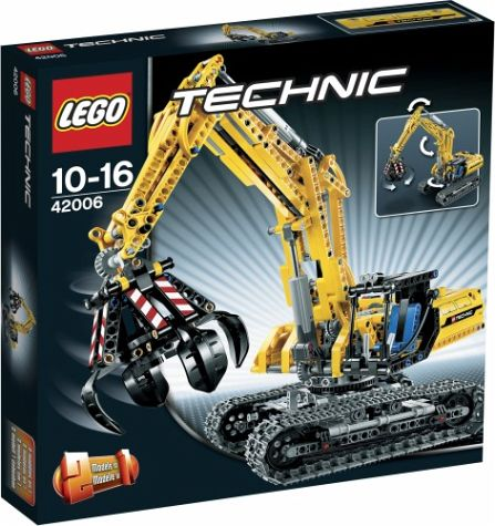 lego technic 42006 claw new 2013 the lego car blog. Black Bedroom Furniture Sets. Home Design Ideas