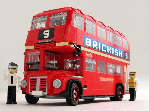 lego routemaster bus the lego car blog. Black Bedroom Furniture Sets. Home Design Ideas