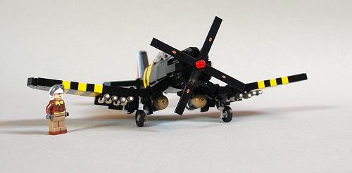 Lego F4U-5 Corsair