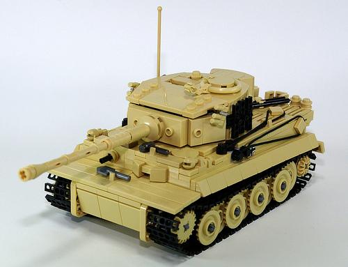 Lego Tiger Tank
