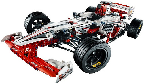 Lego Technic 42000 F1 Racer