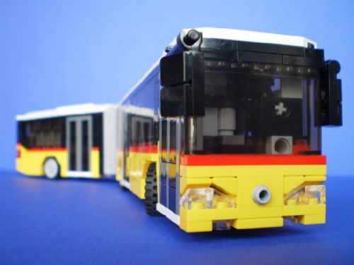 Gabor Horvath's RC Mercedes Citaro Articulated BusGabor Horvath's RC Mercedes Citaro Articulated Bus