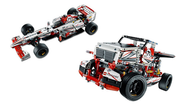 The 42000 B Model Race Truck Instructions Are Up At Legos Website