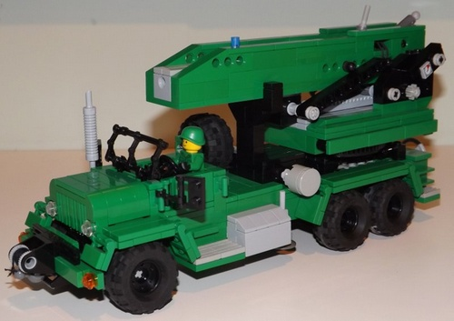 Lego Rocket Launcher