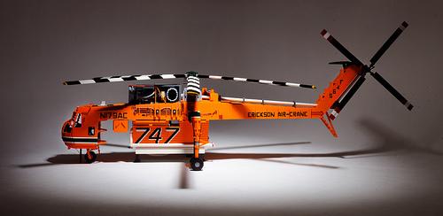 Lego Helicopter, Erickson Air-Crane