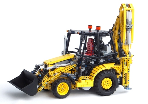 Lego Cat Backhoe