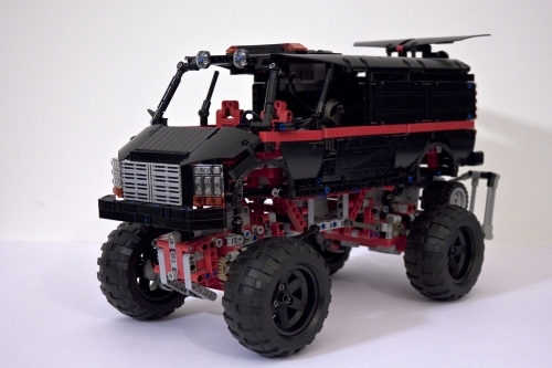 Lego 4x4 Crawler Van