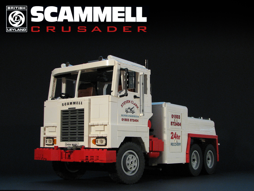 Scammell Crusader The Lego Car Blog