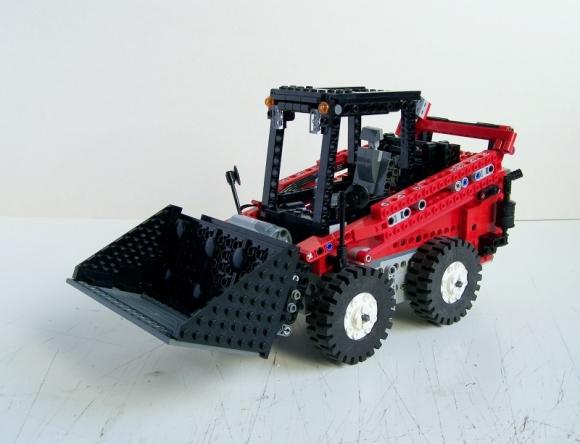 Lego Skid Steer Loader