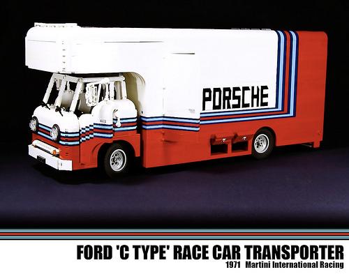 Porsche Racing Transporter