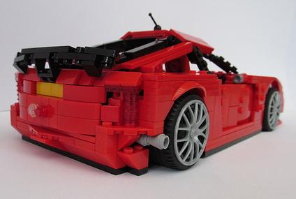 Lego TVR Sagaris