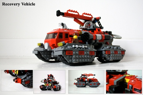 Lego Thunderbirds Rescue