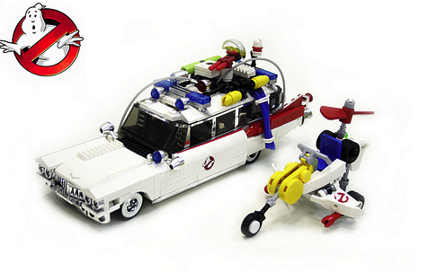 ghostbusters the lego car blog. Black Bedroom Furniture Sets. Home Design Ideas