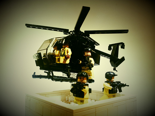 Lego Black Hawk Down