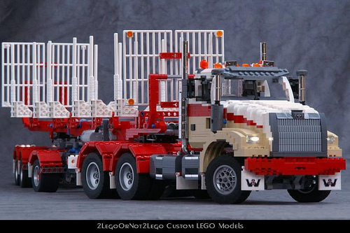 Lego Western Star Truck