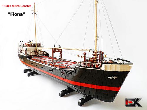 Dutch Coaster Ship