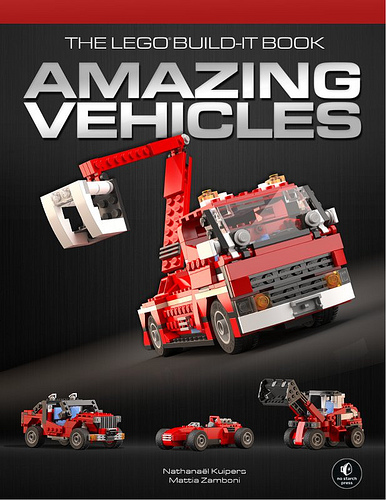 Amazing Lego Vehicles Book