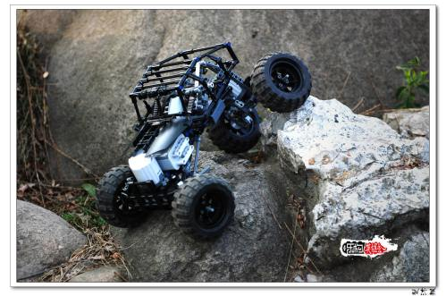 Lego 4x4 Black Fox