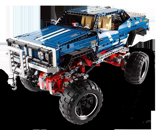 New for 2013! New Lego Technic 4x4 Redux!
