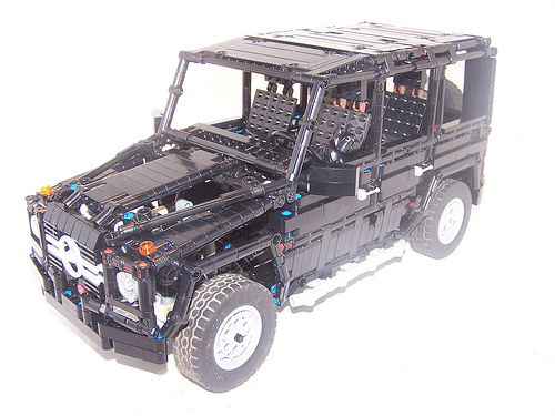 g wagon the lego car blog. Black Bedroom Furniture Sets. Home Design Ideas