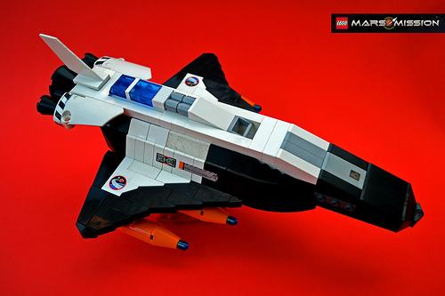 Free LEGO Starfighter with Darth Vader TIE