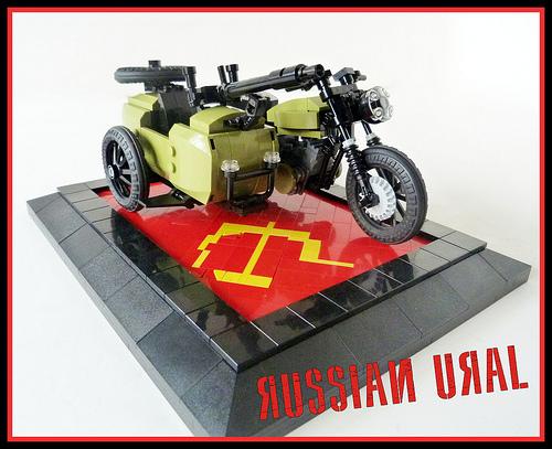 Lego Ural Motorbike