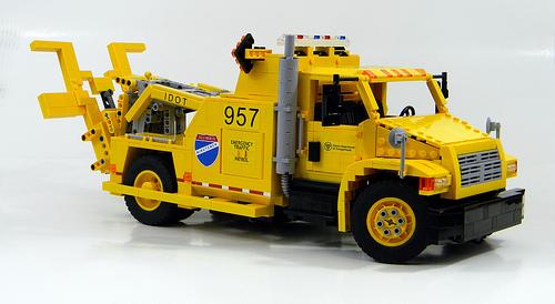 Lego Model Team Rescue Truck The Lego Car Blog