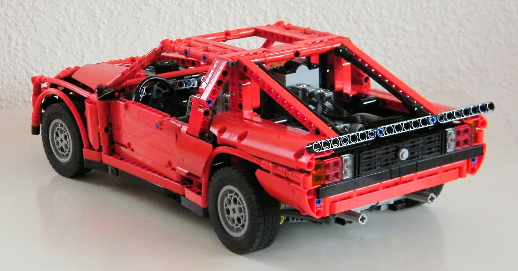 lego rally car the lego car blog. Black Bedroom Furniture Sets. Home Design Ideas
