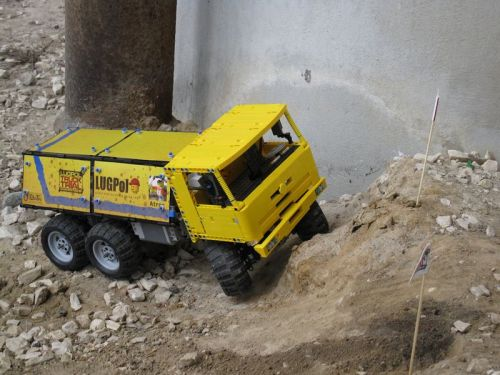 Lego Truck Trial, Warsaw 2013